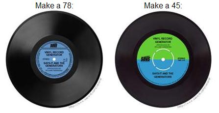 Vinyl Generator