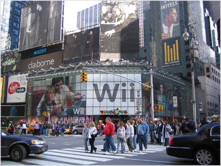 Wii manía en NYC