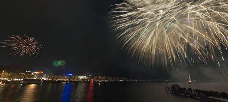 Festejos de fin de año en Berlín