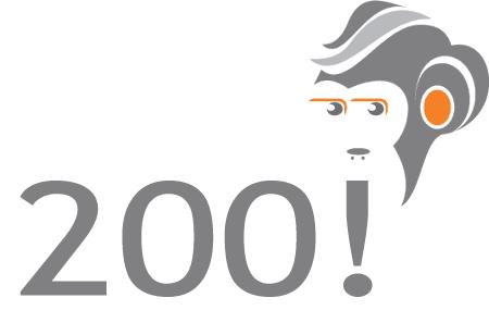 Los 200 post del mono!