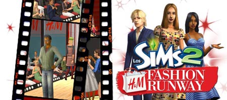 The Sims 2 H&M Fashion Runaway