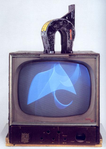 Nam June Paik, «Magnet TV», 1965