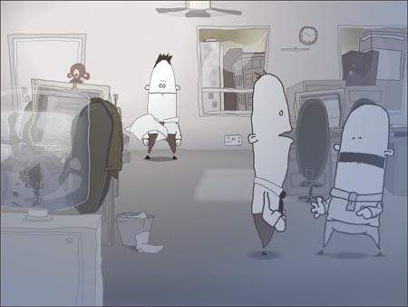 Creep (acoustic) flash animation