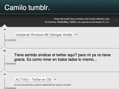 Camilo tumblr.